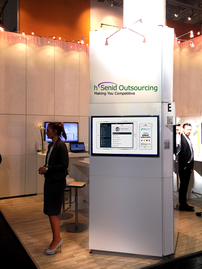 CeBIT2014 hSenid Outsourcing